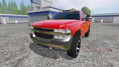 Chevrolet Silverado 2002 v2.0 для Farming Simulator 2015