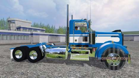 Kenworth W900L 2004 [day cab] для Farming Simulator 2015