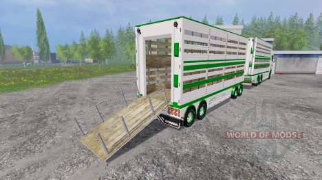 Scania R730 [cattle] для Farming Simulator 2015