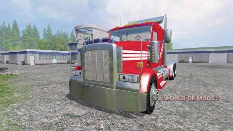 Kenworth W900 v3.0 для Farming Simulator 2015