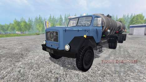 Magirus-Deutz 200D26 1964 [tanker] для Farming Simulator 2015