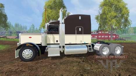 Peterbilt 388 [aluminum wheels] для Farming Simulator 2015