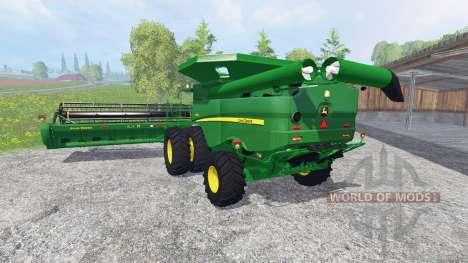 John Deere S 690i [washable] для Farming Simulator 2015