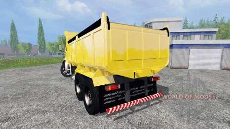 Mercedes-Benz 1513 [dump] для Farming Simulator 2015