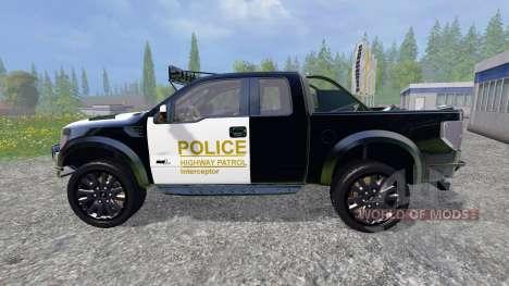 Ford F-150 Raptor Police для Farming Simulator 2015