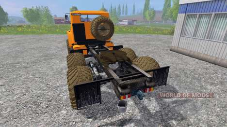 Урал-4320 [тягач] v3.0 для Farming Simulator 2015