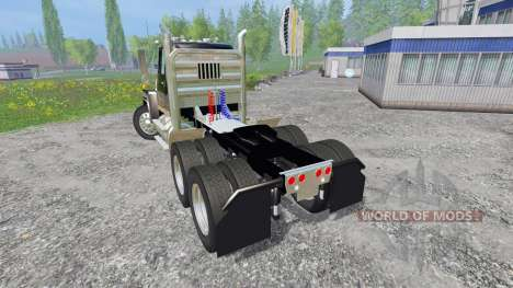 Ford L9000 [black] для Farming Simulator 2015