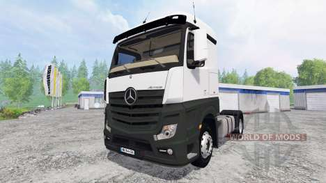 Mercedes-Benz Actros MP4 для Farming Simulator 2015