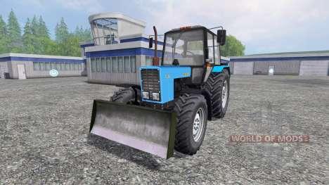 МТЗ-82.1.26.30 Беларус для Farming Simulator 2015