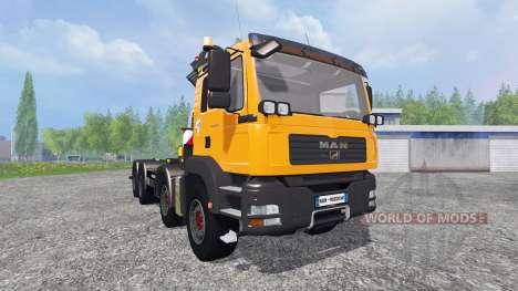 MAN TGA 28.430 [palfinger] для Farming Simulator 2015