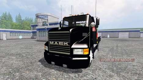 Mack CH612 [flatbed] v2.0 для Farming Simulator 2015