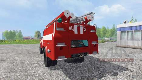 ЗиЛ-130 АЦ-40 v3.0 для Farming Simulator 2015