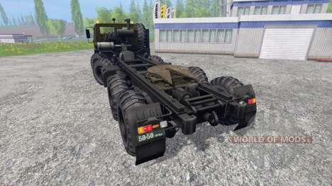 КрАЗ-7Э6316 Сибирь для Farming Simulator 2015