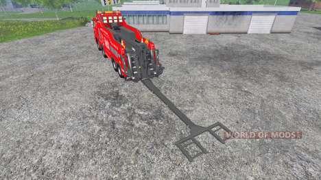 Mercedes-Benz Axor [wrecker] для Farming Simulator 2015
