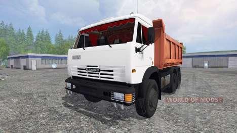 КамАЗ-55111 2007 v1.0 для Farming Simulator 2015