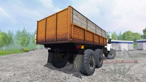 ГАЗ-3309 6x6 для Farming Simulator 2015