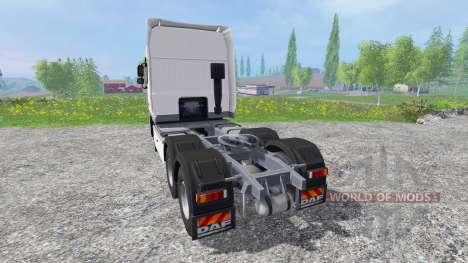 DAF XF105 v0.8 для Farming Simulator 2015