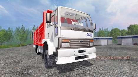 Ford Cargo 2520 v2.0 для Farming Simulator 2015