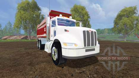 Peterbilt 384 [dump] для Farming Simulator 2015