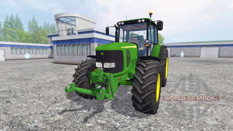 John Deere 6520 для Farming Simulator 2015
