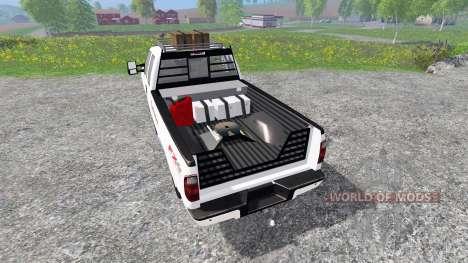 Ford F-350 [Budweiser] для Farming Simulator 2015