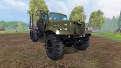 КрАЗ-255 В1 [лесовоз] v2.0