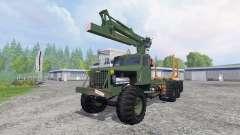 КрАЗ-255 В1 [лесовоз] v2.5