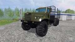 КрАЗ-255 В1 [лесовоз]