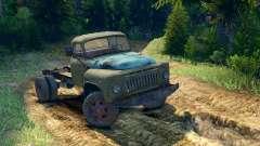 ГАЗ-52 на раме ГАЗ-63 [13.04.15] для Spin Tires