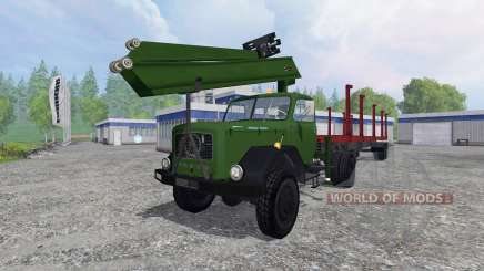Magirus-Deutz 200D26 1964 [forest] для Farming Simulator 2015