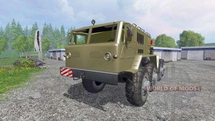 МАЗ-537 для Farming Simulator 2015