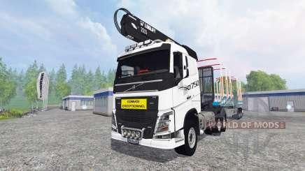Volvo FH16 750 [forest] для Farming Simulator 2015