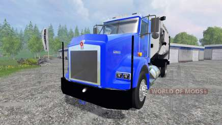 Kenworth T800 [feed truck] для Farming Simulator 2015