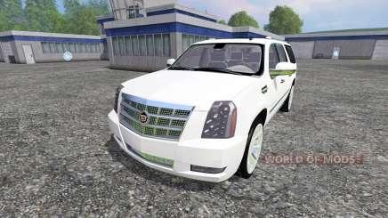 Cadillac Escalade для Farming Simulator 2015