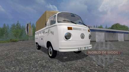 Volkswagen Transporter T2B 1972 [trailer] для Farming Simulator 2015