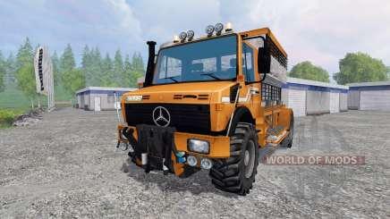 Mercedes-Benz Unimog [spezial vieh] для Farming Simulator 2015
