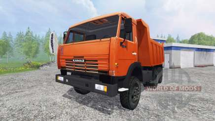 КамАЗ-65115 v1.0 для Farming Simulator 2015