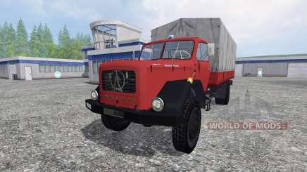 Magirus-Deutz 200D26 1964 [feuerwehr] для Farming Simulator 2015