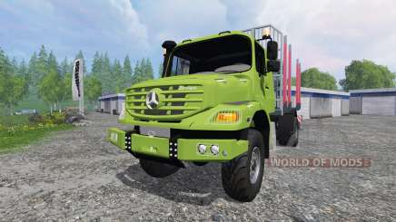 Mercedes-Benz Zetros 1833 [forest] v2.0 для Farming Simulator 2015