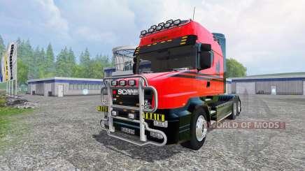 Scania T164 [long line] для Farming Simulator 2015