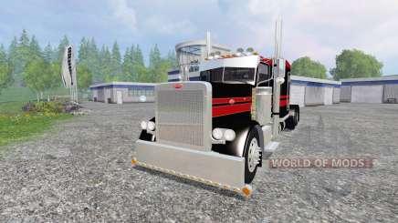 Peterbilt 379 [flat top] для Farming Simulator 2015