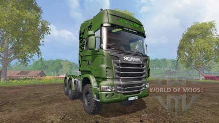 Scania R730 [euro farm] v0.9.6 для Farming Simulator 2015