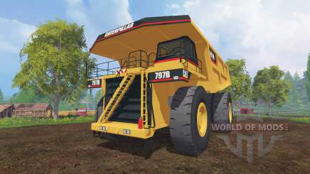 Caterpillar 797B для Farming Simulator 2015