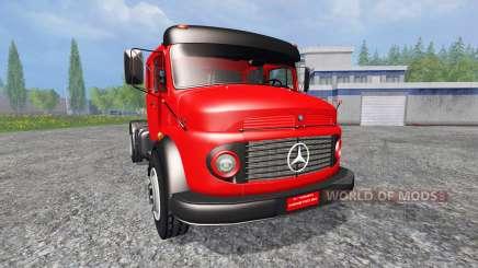 Mercedes-Benz 1519 v2.0 для Farming Simulator 2015