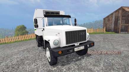 ГАЗ-4732 [John Deere Service] для Farming Simulator 2015