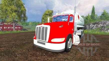 Peterbilt 384 [tanks] для Farming Simulator 2015