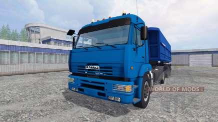 КамАЗ-5460 [прицеп] для Farming Simulator 2015