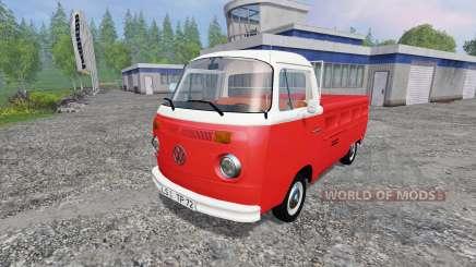 Volkswagen Transporter T2B 1972 для Farming Simulator 2015