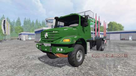 Mercedes-Benz Zetros 1833 [forest] v0.9 для Farming Simulator 2015