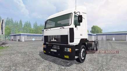 МАЗ-6430 для Farming Simulator 2015